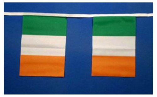 Irlanda banderines decorativos para cupcakes 9metres/914,4 cm de largo 30 Diseño de banderas de países