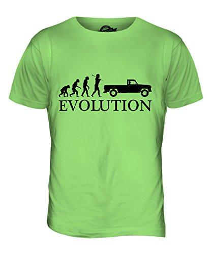 CandyMix Pick Up Evolution Des Menschen Herren T Shirt Limettengrün