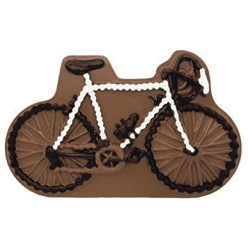 Preisvergleich Produktbild 01 121118 Schokolade Fahrrad Vollmilch als Schokoladenplatte,  Tortenverzierung,  Schokolade,  Torte