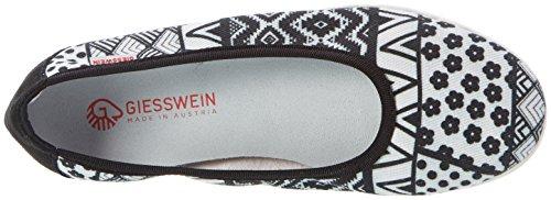 Giesswein Ladies Around Ballerine Chiuse Nere (022 / Nero)