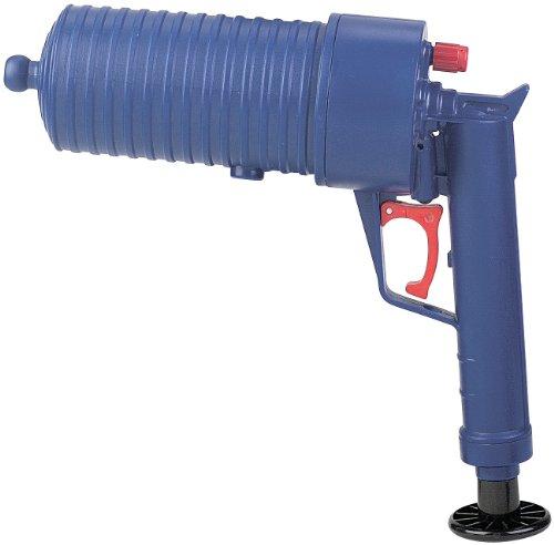 AGT Pressluft-Rohrreiniger mit handlichem Pistolengriff und 6 Aufsätzen