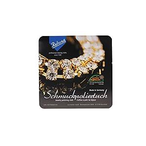 3 x Schmuckpoliertuch Gold- und Silberschmuck Made in Germany (Rekord)