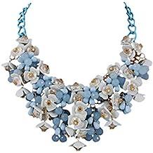 fabbrica Promozione delle vendite qualità perfetta Collana blu bigiotteria - Amazon.it