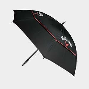 Callaway Tour Authentic Parapluie double couche Noir/blanc/rouge 172 cm