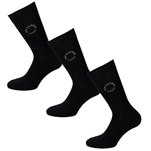 ben-sherman-pour-homme-lot-de-3-chaussettes-elm-en-black-3-paires-de-socks-ben-sherman-logo-a-noir-4