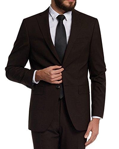 Barutti 100S Vestito da uomo, taglio regolare, Tarso/Tosco in 5colori Marrone