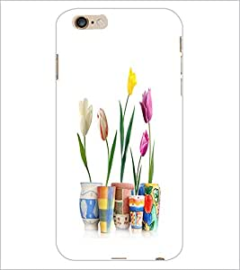 PrintDhaba Flowers D-2108 Back Case Cover for APPLE IPHONE 6 PLUS (Multi-Coloured)