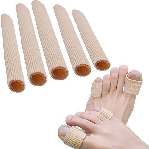 Sumifun Protezione Gel Dita, Silicone Protezione Dita Piedi 5 Paia per Stubbed Dita Dei Piedi, Mal Di Piedi, Calli, Calli, Proteggere