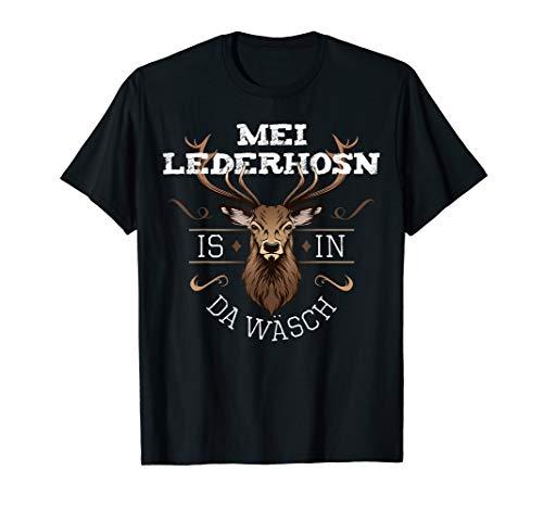 da Wäsch lustiger Spruch Oktoberfest Fun T-Shirt ()