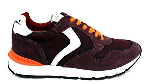 Voile Blanche Sneaker Uomo Liam Race Decolorato Prugna (Rosso)_39