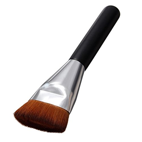 Make-Up Pinsel, GJKK Super Weich Flache Kontur Make-up Pinsel Puderpinsel Kabuki Pinsel Foundation...