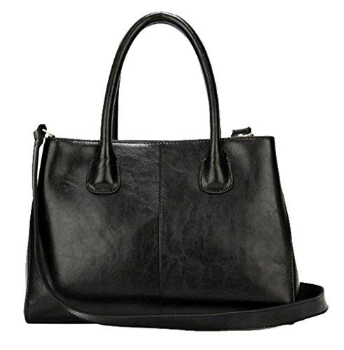 saierlong-womens-tote-single-shoulder-bag-cross-body-bag-handbag-black-cow-leather
