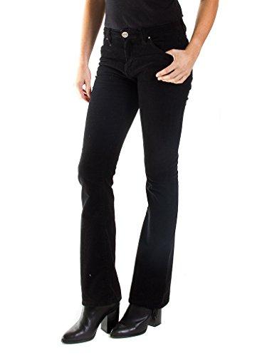 Carrera Jeans - Pantalone 752 752Z950SX per donna, modello bootcut, tinta unita, vestibilità normale, vita regular 899 - Nero