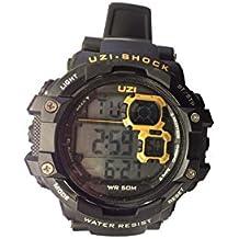 Uzi Reloj Militar Digital Shock ZS 02Black