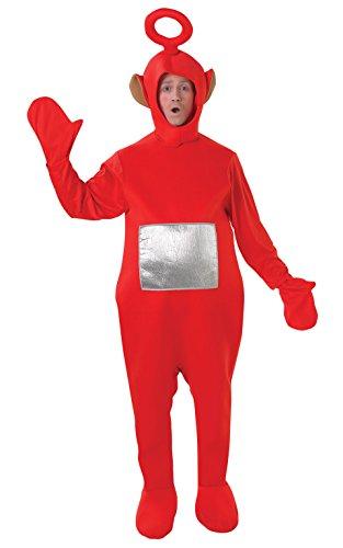 Rubies Offizielles Po-Kostüm, Teletubbies, für Erwachsene,Standardgröße (Teletubbies Po Kostüm)