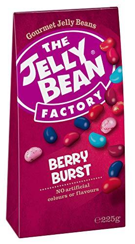 Wild Cherry Cranberry (The Jelly Bean Factory Berry Burst 225 g Faltschachtel - 3er Pack   Gourmet Jelly Beans)