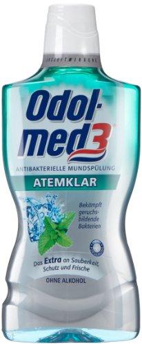 Odol-med3 Mundspülung Atemklar 500 ml, 8er Pack (8 x 500 ml)