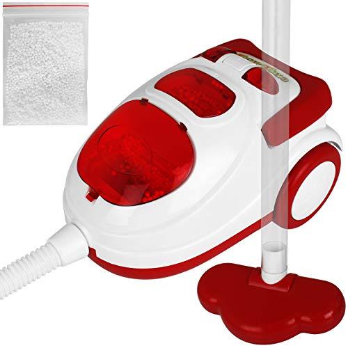 TW24 Kinder Spielzeug Staubsauger mit Saugfunktion Kinderstaubsauger inkl Styroporkügelchen Haushaltsgeräte Kinderspielzeug Sauger mit Sound