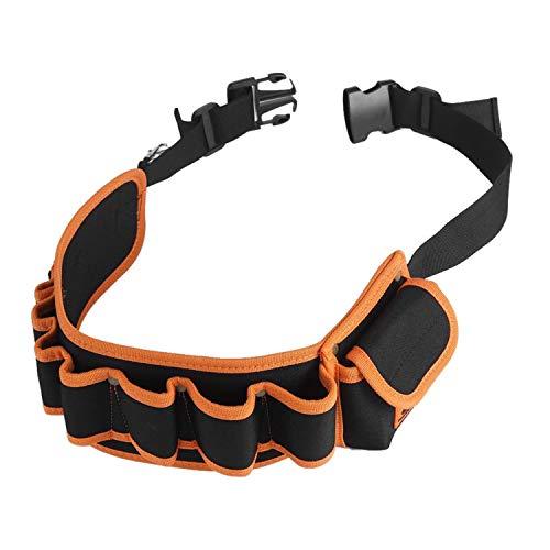 Werkzeugtaschen Verstellbarer Taillengurt Beutel Elektrischer Taillenwerkzeug Gürtel Tischler Werkzeugtuch Beutel Werkzeughalter Muti-Zweck Beuteltaschen