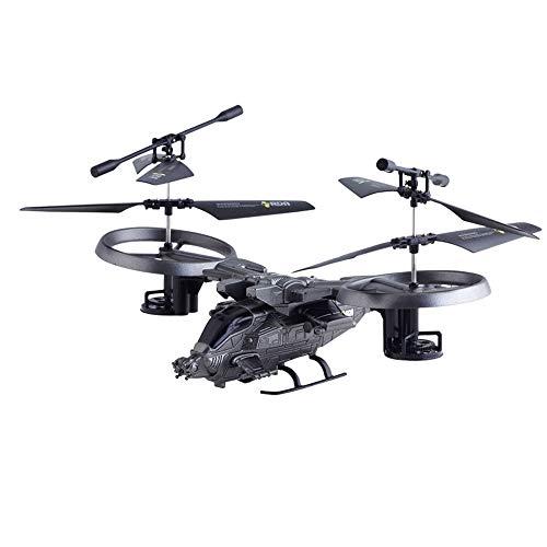 DEELIN Hubschrauber 4 Kanal 2,4 GHZ Crash-Kämpfer Kind Elektrische Spielzeug-Drohne Fernbedienung Radio Aircraft Drone Flugzeug Glider Outdoor Gastgeschenk Spielgeräte Hobbys Modelle (4 Kanal Hubschrauber Outdoor)