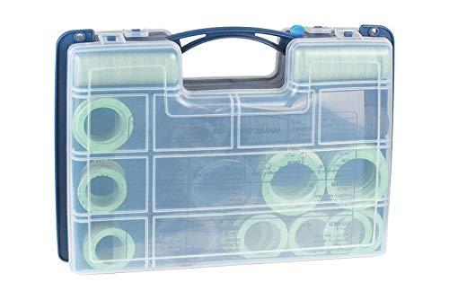 Airfit Universal Dichtungskoffer Wasser, Heizung, Gas, 800 Teile - Gas-wasser-heizung-teile