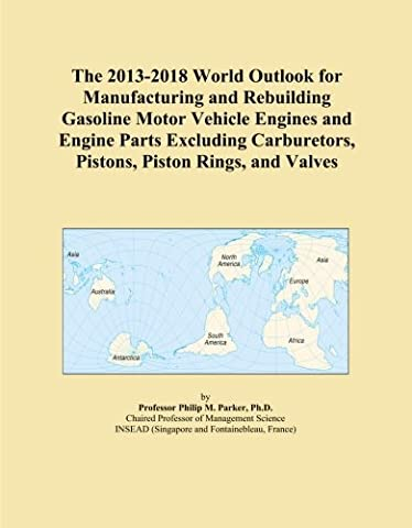The 2013-2018 World Outlook for Manufacturing and Rebuilding Gasoline Motor Vehicle Engines and Engine Parts Excluding Carburetors, Pistons, Piston Rings, and Valves