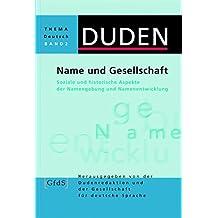 Duden Thema Deutsch, Bd.2, Name und Gesellschaft