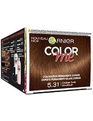 Garnier Color Me Coloration Cheveux Permanente Châtain Doré 5.31 - Lot de 3