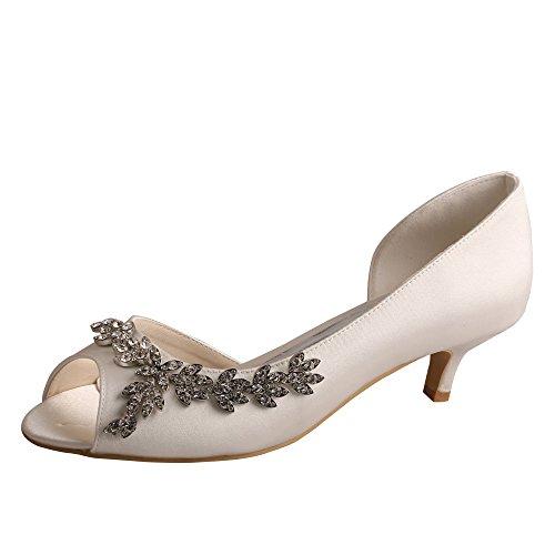 p Toes, weiß - elfenbeinfarben - Größe: 40 ()