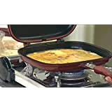 Best Deals - Double Sided Magic Non-Stick Grill Pan, 32cm