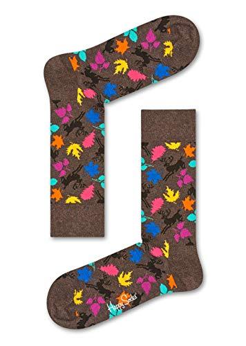 (Happy Socks Herren Socken Deer, 6er Pack, (Braun 8000), One Size (Herstellergröße: 41-46))