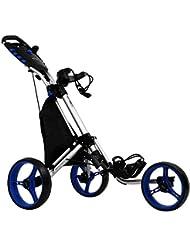 tour-made RT-140 3-Rad Golf Push Trolley Pushtrolley Golftrolley 3-Rad