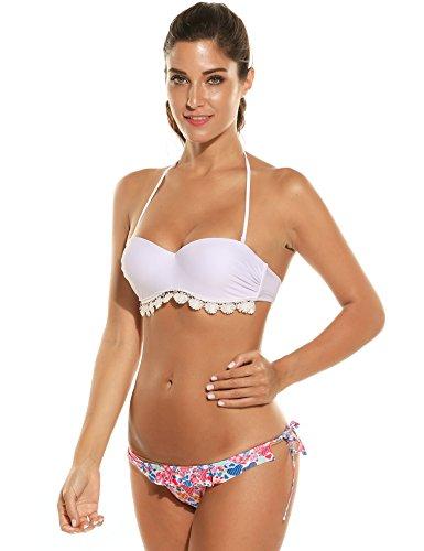 Coorun Mujer Traje de Baño Bikinis de la Moda