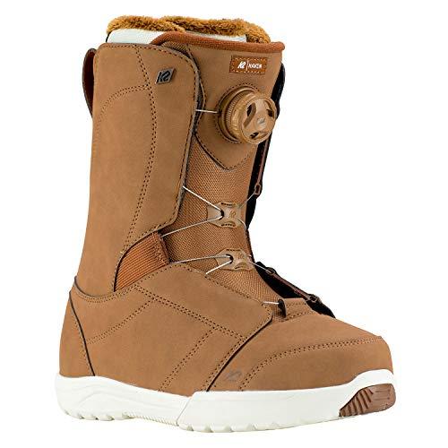 K2 Snowboard Boots Gr. 7,5 schwarz BOA Schnürsystem stoßabsorbierend - Damen