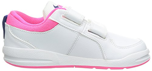 Nike Mädchen Pico 4 Low-Top Mehrfarbig - White/Pink/Blue