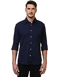 Colorplus Men's Plain Slim Fit Casual Shirt