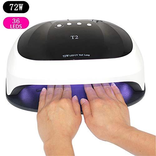72W Pro UV Lámpara LED Lámpara uñas Secador uñas