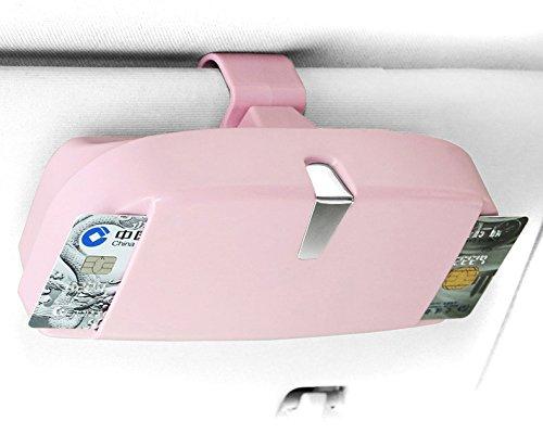 LFOTPP /Étuis /à Lunettes pour Serie 3 5 7 X1 X3 X5 X7 Gris Porte Lunettes Support de Soleil pour Voiture