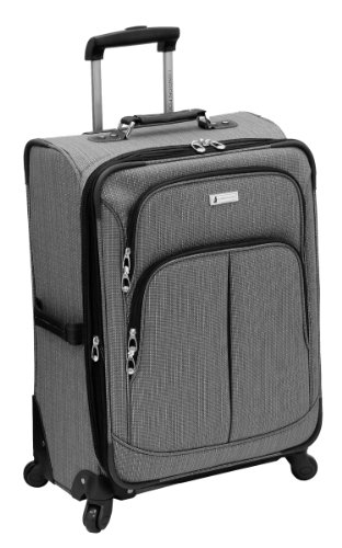 london-fog-luggage-chatham-360-collection-24-inch-expandable-upright-grey-one-size