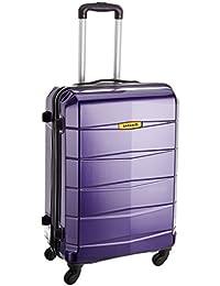 Safari Re-Gloss Polycarbonate 55 cms Dark Purple Carry-Ons (NEW-Re-Gloss-55-Purple-4WH)