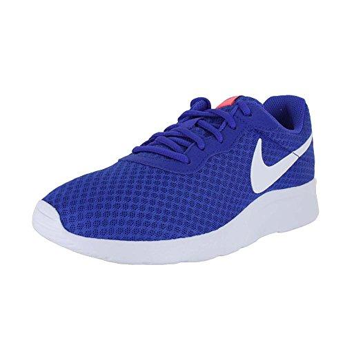 Nike Wmns Tanjun Se, Scarpe da Ginnastica Donna Paramount Blue White Lava Glow