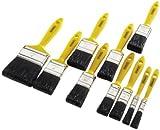 Stanley HOBBY10 10 Piece Hobby Paint Brush Set