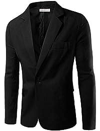 Cloud Style Haut de costume mince affaires décontraction sexy-couleur unique -un bouton-Homme