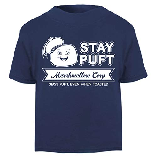 Ghostbusters Stay Puft Marshmallow Corp Baby and Toddler Short Sleeve T-Shirt