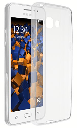 mumbi UltraSlim Hülle für Samsung Galaxy Grand Prime Schutzhülle transparent (Ultra Slim - 0.55 mm)