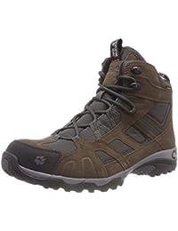 Jack Wolfskin VOJO HIKE MID TEXAPORE MEN, Wanderschuhe für Herren aus wasserfestem und atmungsaktivem Material, Outdoor Schuhe mit robuster und gut dämpfender Sohle