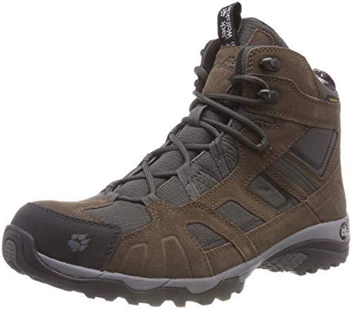 d3c73c6f0a8 Jack Wolfskin Vojo Hike Mid Texapore Men Wasserdicht, Chaussures de  Randonnée Hautes Homme, Marron (Dark Wood 5690), 42 EU