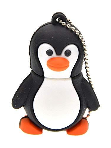 FEBNISCTE USB-Stick in kreativer Form Pinguin 64 GB