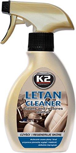 K2-Leder Pflege, Reiniger & Balsam, Sehr gut verarbeitbar, Peak Geruch, Flasche mit Zerstäuber 200ml - Leder-zerstäuber