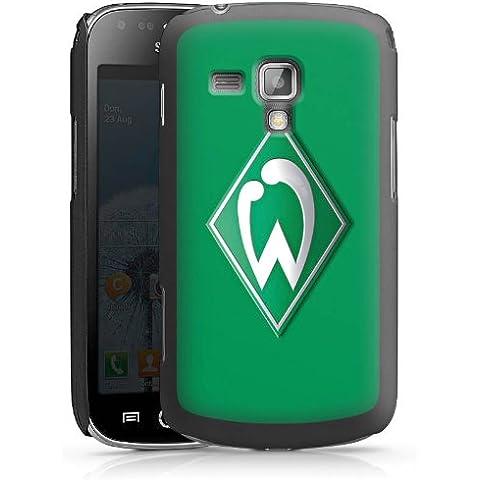 Samsung Galaxy S Duos GT-S 7562 Case Cover Hülle schwarz - Werder Bremen grün